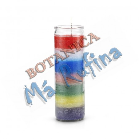 7 Days Candle 7 Colors - 7 African Powers