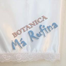 Pañuelo Blanco de Satin con...