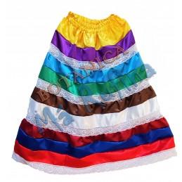 Saya de 9 Colores de Satin...