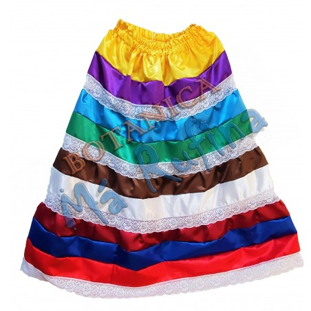 9 Colors Satin Skirt Oya / Eggun / Centella