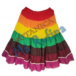 7 Colors Skirt 7 African...