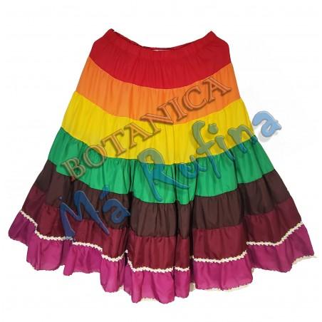 7 Colors Skirt 7 African Powers / Eggun