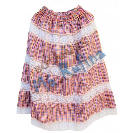 9 Colors Ghingham Skirt Oya Centella