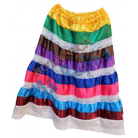 9 Colors Satin Skirt Oya / Eggun / Centella