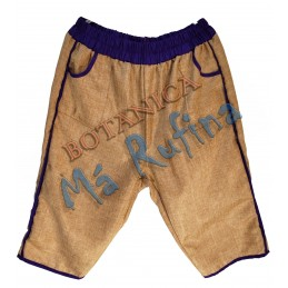 Purple & Burlap Pants San...
