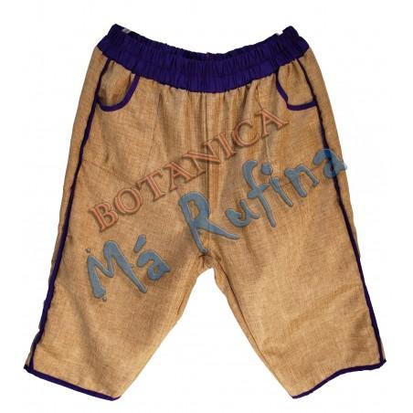 Purple & Burlap Pants San Lazaro / Babalu Aye