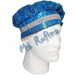 Blue Hat of Yemaya Asesu /...