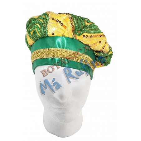 Green/Yellow Hat of Orunmila