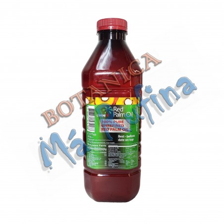 Red Palm Oil Manteca de Corojo 2 Litre