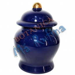 Small Blue Jar for Ibeyis