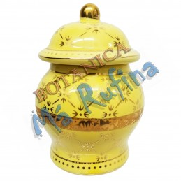 Small Yellow Jar for Ibeyis